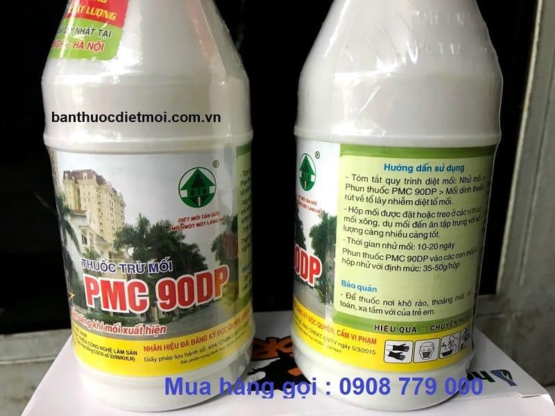 2 chai thuốc diệt mối PMC 90dp