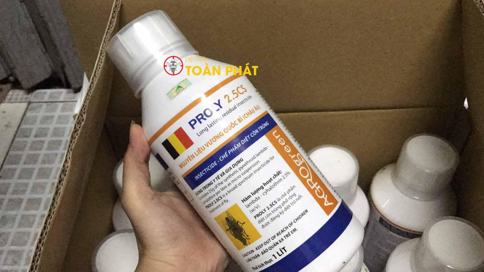 Thuốc diệt ruồi Proly 2.5cs Đặc trị Ruồi
