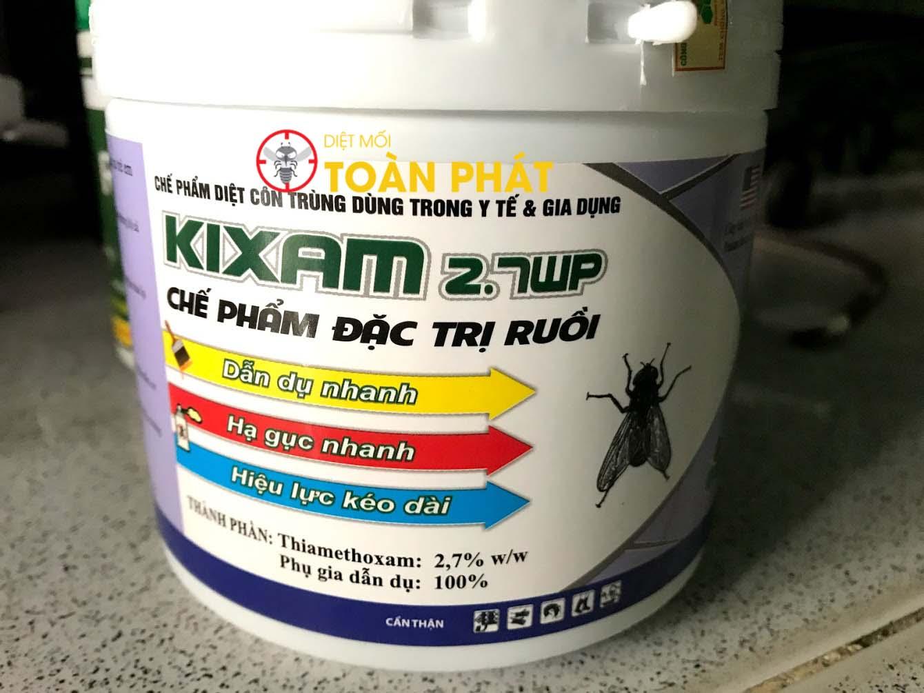 Thuốc diệt ruồi Kixam 2.7wp 400gram