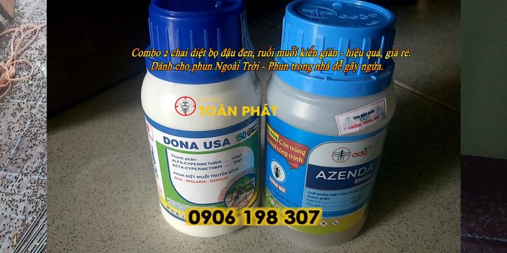 Dona-usa+Azenda Combo bọ đậu đen ngoài trời