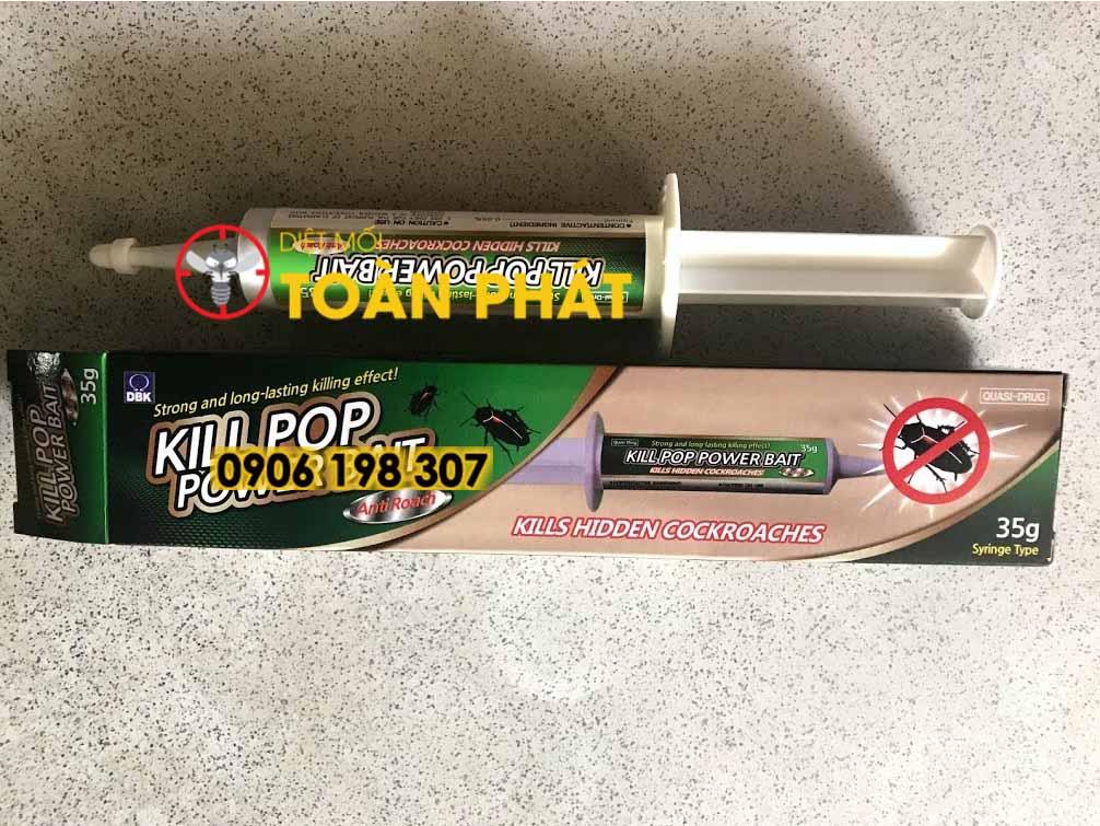 Thuốc diệt gián KILL POP POWER BAIT