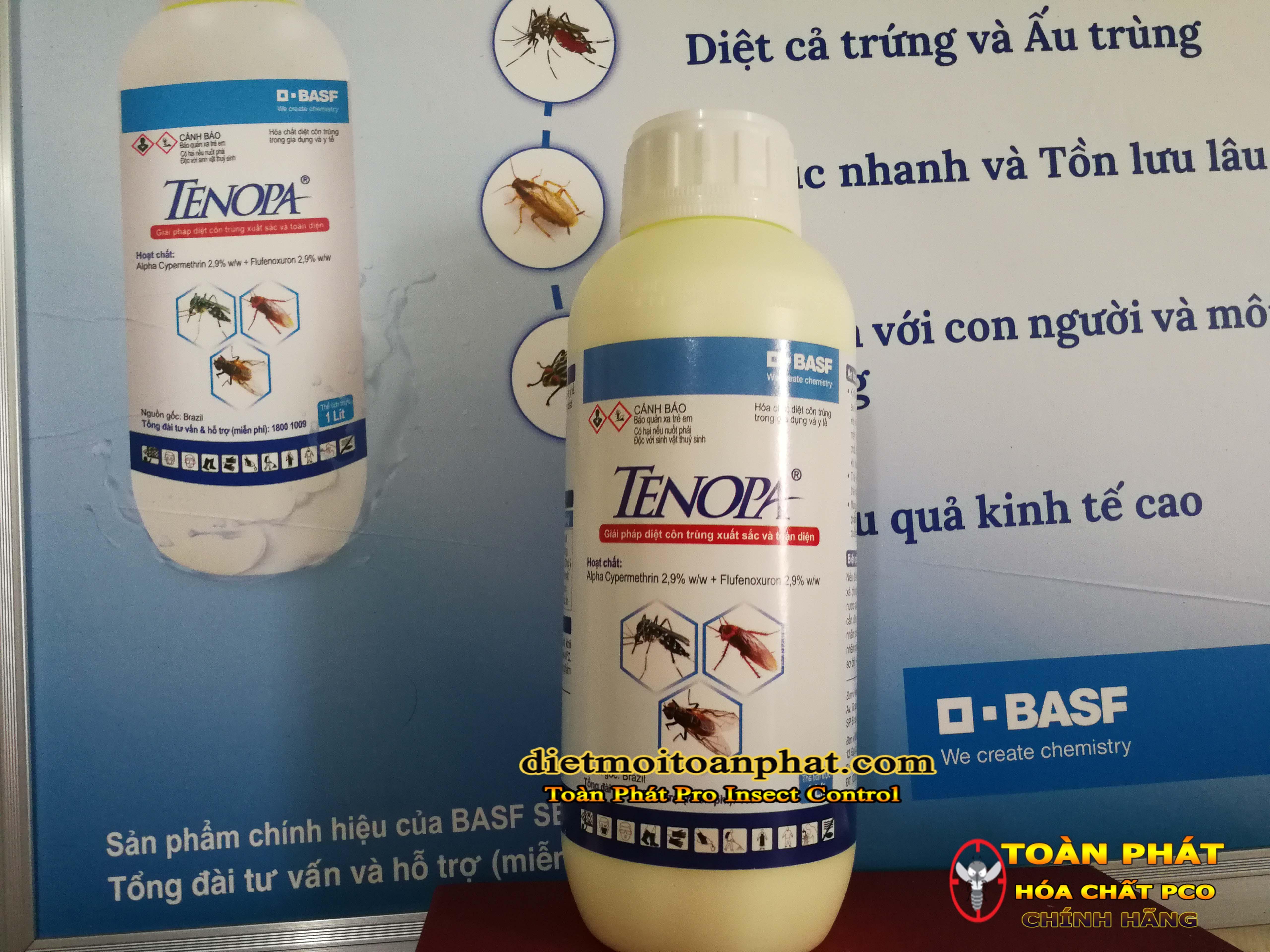 Thuốc diệt côn trùng Tenopa BASF