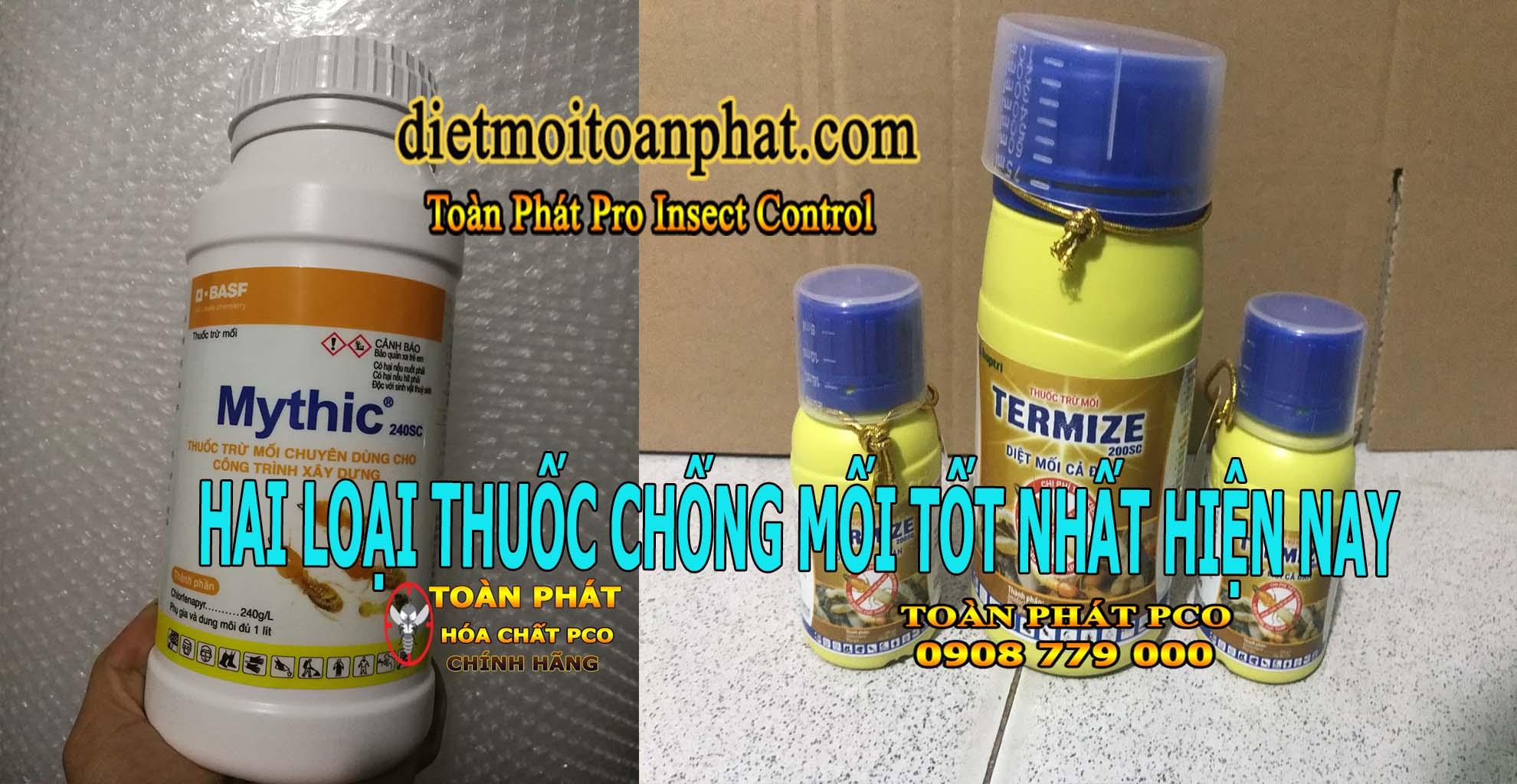2 loại thuốc chống mối tốt nhất hiện nay