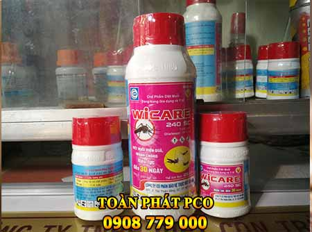 Wicare 240sc thuốc muỗi